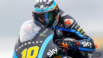 Moto2: FP1 Mugello: Marini di un soffio su Marquez, 3° Di Giannantonio