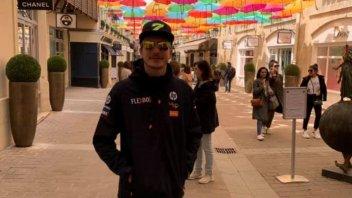 Moto2: Baldassarri rassicura sui social i propri sostenitori
