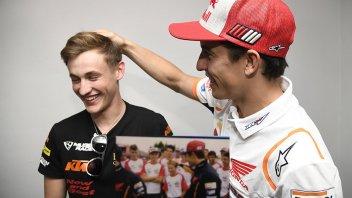 """Moto3: Masia cerca consigli: le domande ai """"grandi"""" della MotoGP"""