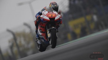 "MotoGP: Miller: ""I surprised you... I didn't mount the slicks on the wet asphalt."""
