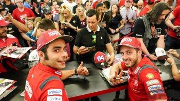 MotoGP: Ducati, Dovi e Petrux in coro: quest'anno più avversari per il podio