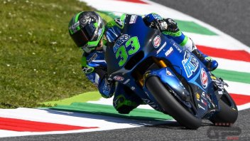 Moto2: Bastianini infiamma il Mugello, è primo nel Warm Up