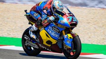 Moto2: Marquez conquista vittoria e testa del mondiale, a terra Baldassarri