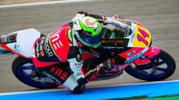 Moto3: Arbolino brucia Dalla Porta in volata ad Assen
