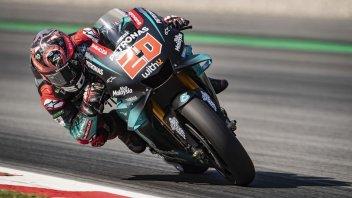 MotoGP: Quartararo si prende anche il warmup, 7° Rossi