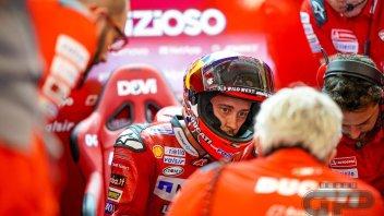 """MotoGP: Petrucci: """"Con il caldo di oggi noi ducatisti siamo evaporati"""""""