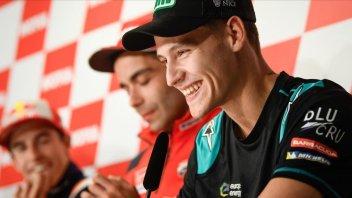"""MotoGP: Quartararo: """"Imparo in fretta, sono stupito di me stesso"""""""