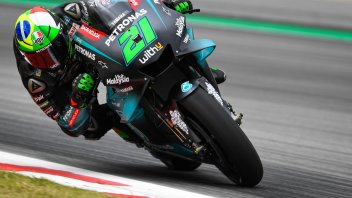 "MotoGP: Morbidelli: ""I crashed at 192 Km/h, but I'm pleased"""