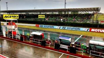 SBK: Pioggia a Misano: interrotta Gara 1