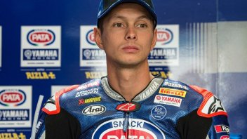 SBK: ULTIM'ORA Frattura al polso per van der Mark, weekend finito