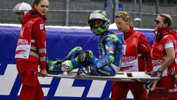 Moto2: Due microfratture al piede per Bastianini, ma sarà a Silverstone
