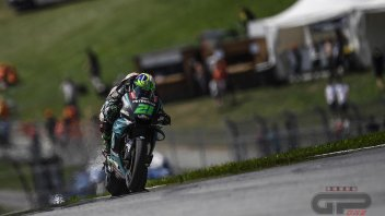 MotoGP: Morbidelli e Rossi comandano il Warm Up bagnato al Red Bull Ring
