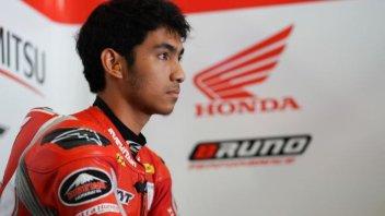 Moto2: Ekky Pratama salta anche Misano, al suo posto Andi Gilang