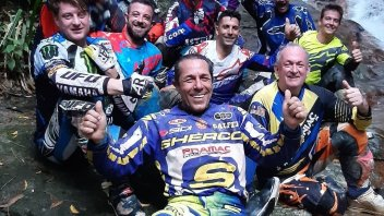 MotoGP: Enduro relaxation among managers: Forcada, Zeelemberg and Felix Rodriguez