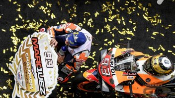 MotoGP: Marc Marquez, the triumph after the 8th title