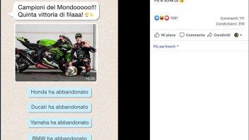 SBK: Kawasaki scherza sui social: l'importante è partecipare, per gli altri