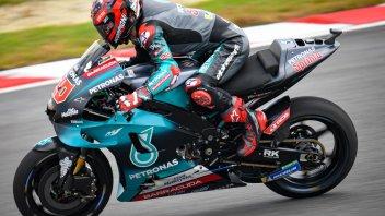 MotoGP: FP2: Quartararo oltre il muro del suono a Sepang, 1° con record