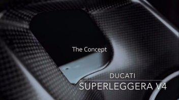 News Prodotto: ANTEPRIMA Ducati Project 1708: il video teaser della Superleggera V4