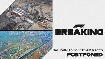 Auto - News: Formula 1: UFFICIALE rinviati Bahrein e Vietnam