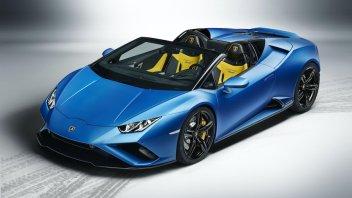 Auto - News: Nuova Lamborghini Huracán Evo Spyder, 610 cv di emozioni all'aria aperta
