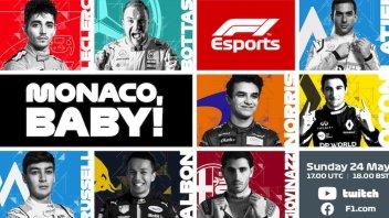 Auto - News: F1 – Virtual Race: La maledizione di Leclerc a Montecarlo, atto 3°?