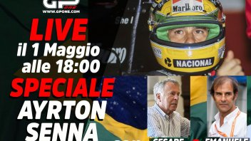Auto - Video: LIVE - Speciale Ayrton Senna alle 18:00 su GPOne: The Magic svelato