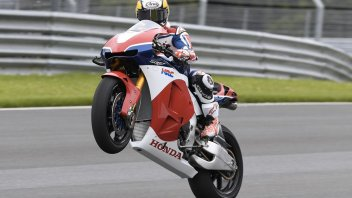Dani Pedrosa in azione al Red Bull Ring