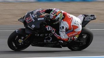 VIDEO. Petrucci's first GP17 ride