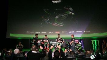 SBK: Kawasaki lancia la sfida al terzo titolo consecutivo SBK