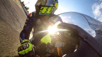 MotoGP: Valentino Rossi plays teacher at Misanino