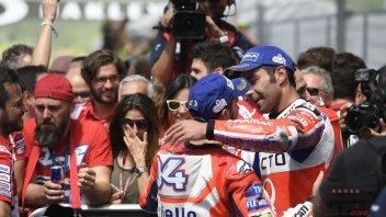 MotoGP: Petrucci: Doviziosoìs secret? he's gentle on the gas