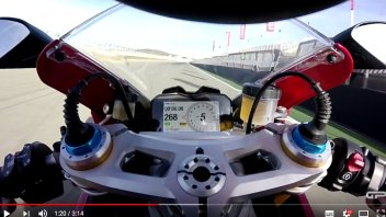 Test: Andrea Buzzoni talks about the new Ducati Panigale V4