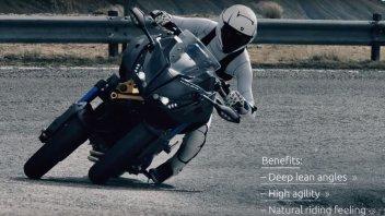 News Prodotto: Yamaha Niken: come funziona il sistema Ackermann allo sterzo