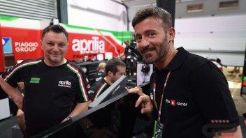 """MotoGP: Biaggi: """"Iannone motivato e veloce, riporterà Aprilia al top"""""""