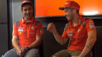 MotoGP: Dovizioso and Petrucci champions of... 'Guess Who?'