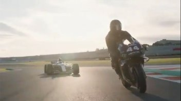 MotoGP: VIDEO. The first images of the Rossi-Hamilton swap