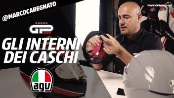 News Prodotto: Gli interni dei caschi AGV: dallo sportivo PISTA GP-RR al nuovo K6