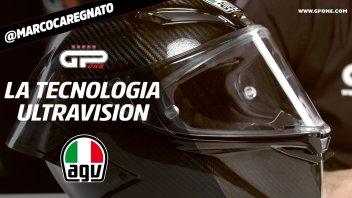 News Prodotto: Caschi AGV: dall'Ultravision alla protezione integrata delle visiere