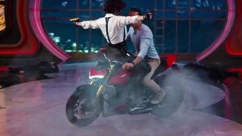 News: Ducati Streetfighter V4: vola in alto a Hollywood con Ryan Reynolds