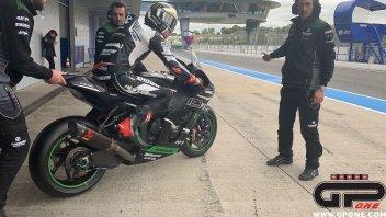SBK: The King is back: Rea finalmente in pista a Jerez