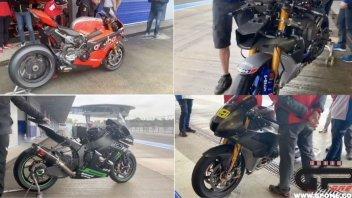 SBK: Sound a confronto: Honda, Ducati, Kawasaki e Yamaha tutti contro tutti