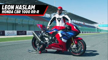 """Moto - News: Haslam and the CBR 1000 road bike: """"Aerodynamics from MotoGP and you can feel the difference"""""""