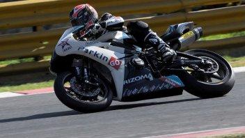 Moto - News: WSS: La Triumph sfiora la pole
