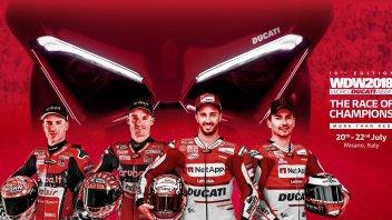 News Prodotto: I campioni Ducati in gara con le Panigale V4 S al WDW