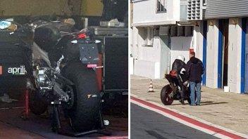 News Prodotto: Aprilia RS 660: test segreti a Vallelunga