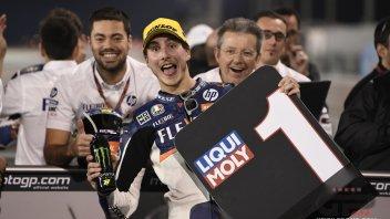 "MotoGP: Baldassarri: ""Per vincere in Qatar ho ascoltato Bagnaia e Morbidelli"""