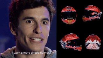 MotoGP: Marc Marquez svela il casco per il 2020: lo utilizzerà nel 2021