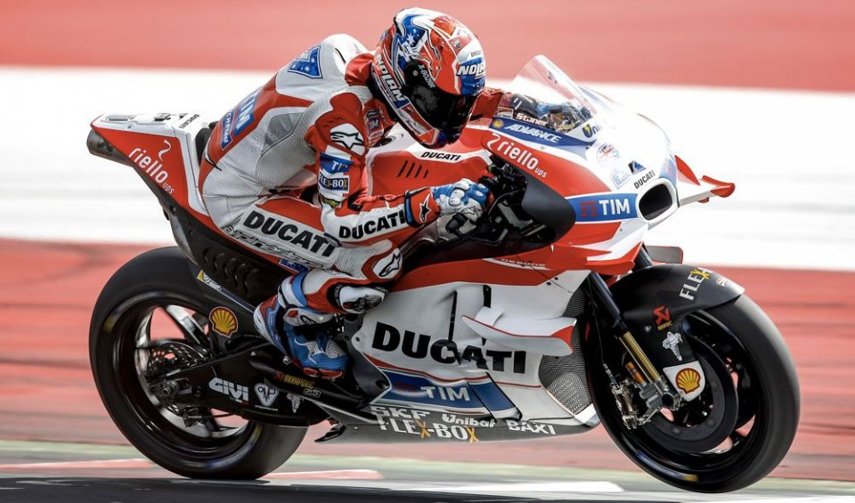 """With the new chassis I'd have been faster"". No wildcard for Casey in Austria. Dovizioso: ""we can exploit all of our potential here"""