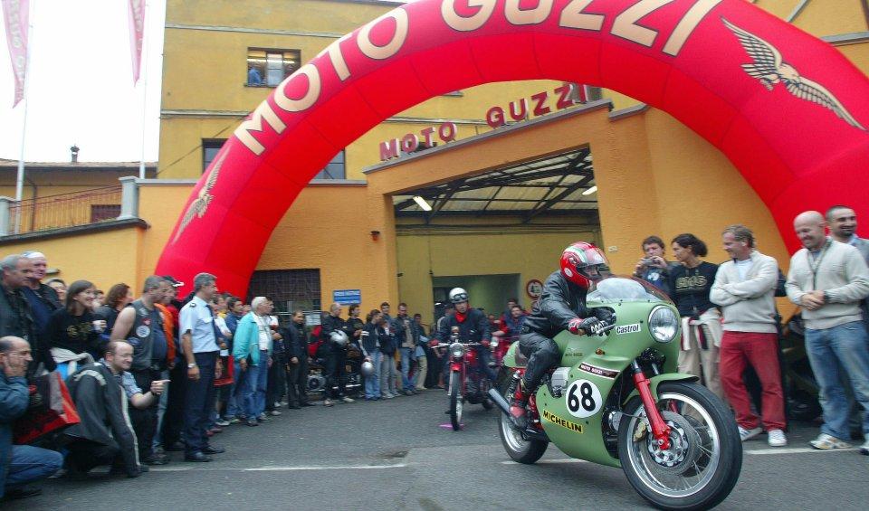 From 9 to 11 September the Mandello del Lario brand celebrates 95 years