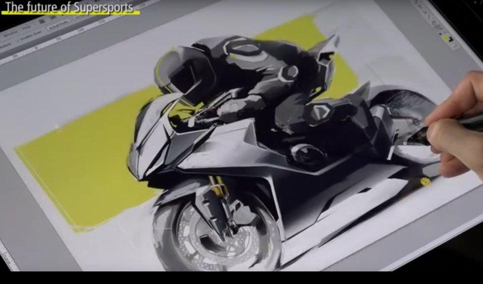 """Un video di Honda Indonesia sul design del futuro della serie RR mostra un bozzetto di una 4 cilindri in linea che potrebbe riguardare l'attesa """"Fire Blade"""""""